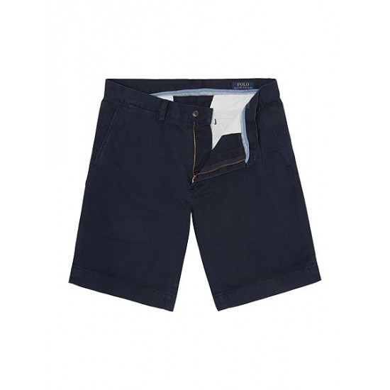Ralph Lauren men's Suffield Classic-Fit Cotton Shorts Navy