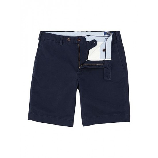 Ralph Lauren men's Slim Fit Hudson Shorts Navy