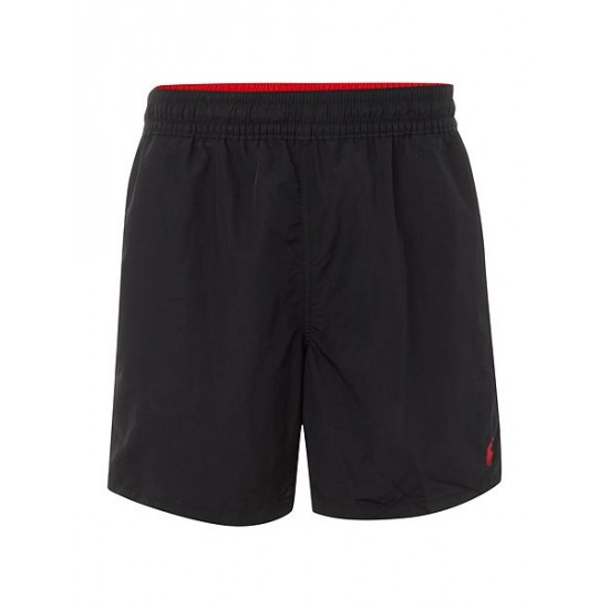Ralph Lauren men's Classic Swim Shorts Black