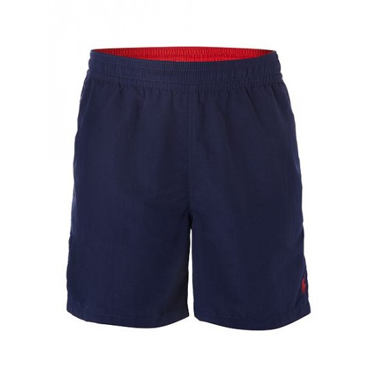 Ralph Lauren men's Classic Swim Shorts Denim Indigo