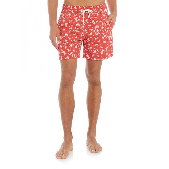 Ralph Lauren men's Traveler Swim Shorts Red