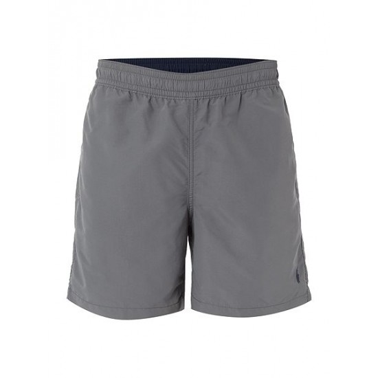 Ralph Lauren men's Classic Swim Shorts Grey