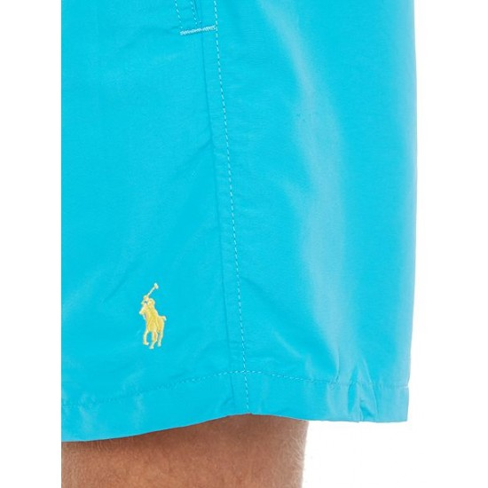 Ralph Lauren men's Classic Swim Shorts Blue Outlet Uk
