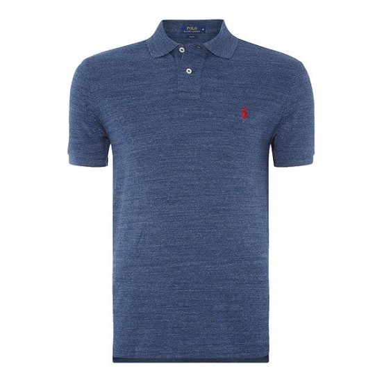 Ralph Lauren men's Slim Fit Basic Mesh Polo Royal