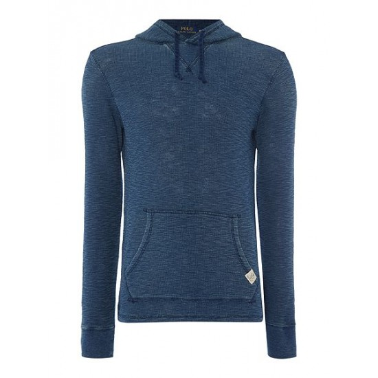 Ralph Lauren men's Hooded Sweat Indigo