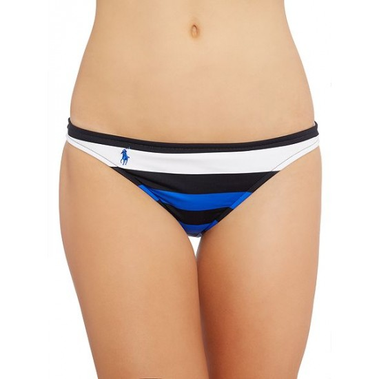 Ralph Lauren Women's Colourblock Bikini Bottom Blue