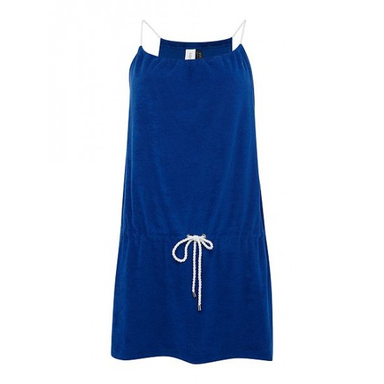 Ralph Lauren Women's Terry Rope Dress Cover Up Blue